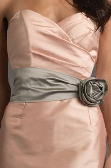 Ruched Flower Belt SA21
