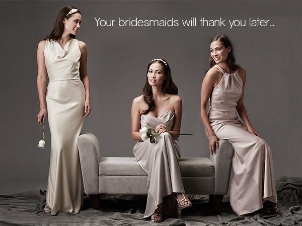 Bridesmaids Dresses Gowns Wedding Attire